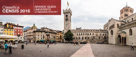 L'Università di Trento prima tra gli atenei italiani